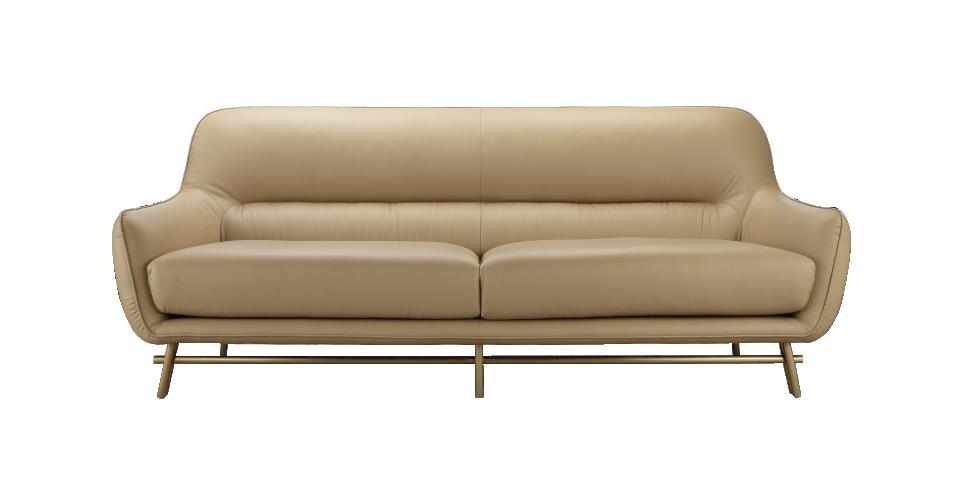 现代轻奢风格三人沙发